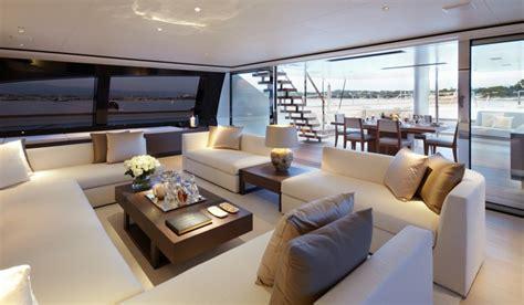 bateau de luxe une selection dinterieurs exceptionnels