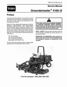 03116sl Pdf Groundsmaster 4100