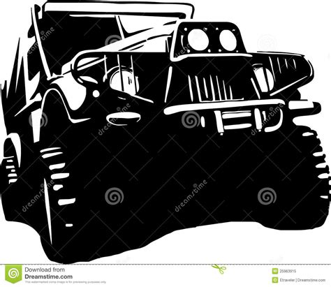 jeep illustration jeep cartoons illustrations vector stock images 2390