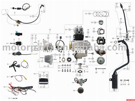 110cc parts for atv bizrice