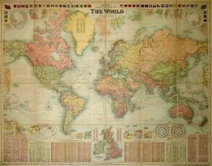 Bacon Chart Bacon S New Chart Of The World Mercator 39 S Projection