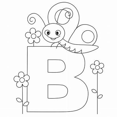 Coloring Alphabet Pages Letter Printable
