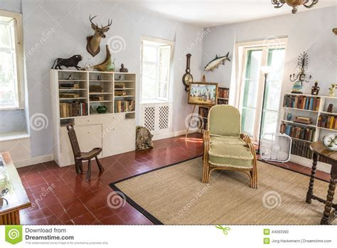Study Room In The Ernest Hemingway Home And Museum In Key