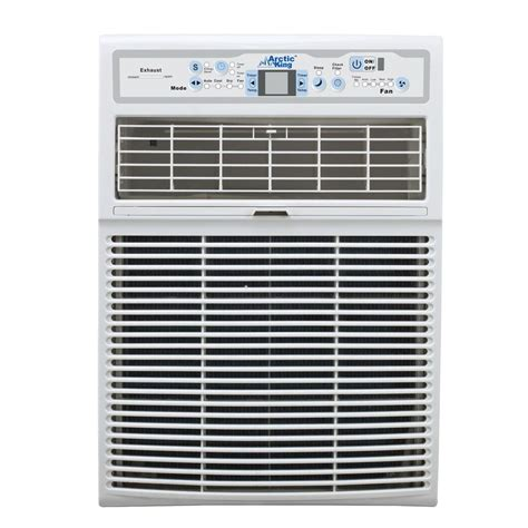 arctic king  btu  volt  casement window air conditioner  remote aksccr