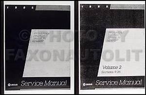 1985 Rwd Repair Shop Manual Reprint