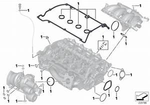 Mini R56 Lci  Coupe  Cooper S  Usa  Engine  Cylinder Head