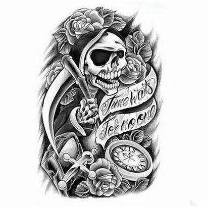 Tattoo Rose Skull Tattoos Sleeve Designs Roses