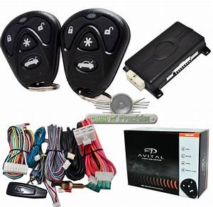 Avital 4105 Car Remote Start With Keyless Entry New Avital