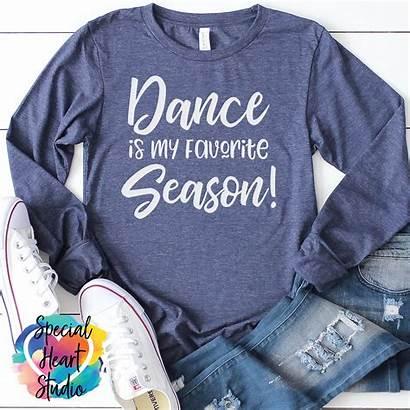 Dance Season Svg Favorite Cut Fav Heart