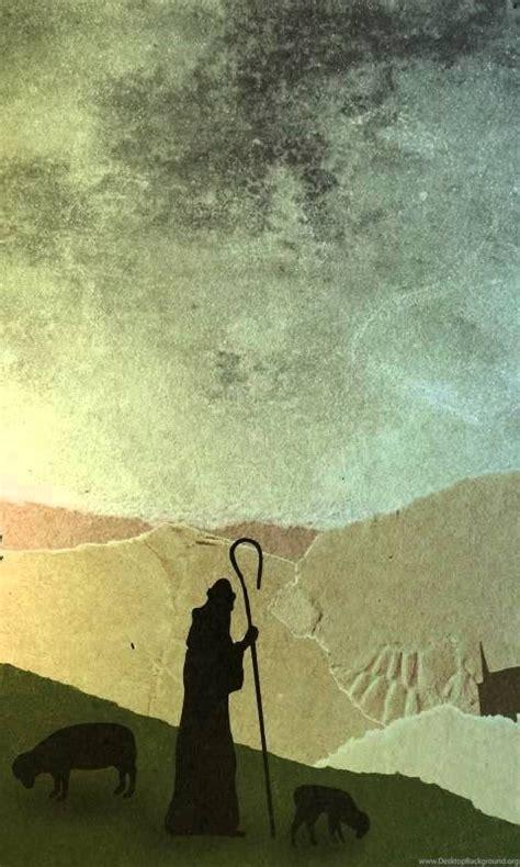christmas worship backgrounds shepherds  background
