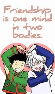 Best Anime Quotes Gon Freecss Killua Zoldyck Hunter x ...