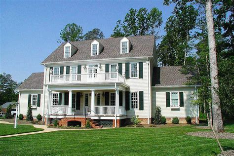 House Plans Colonial colonial house plans architectural designs