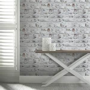 Papier Peint Trompe L Oeil Brique : papier peint trompe l il pour une d co de style ~ Premium-room.com Idées de Décoration