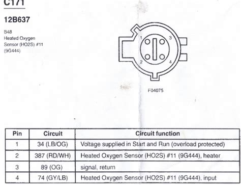 Ford Oxygen Sensor Wiring Color Code by Hego Problems Ford Truck Enthusiasts Forums