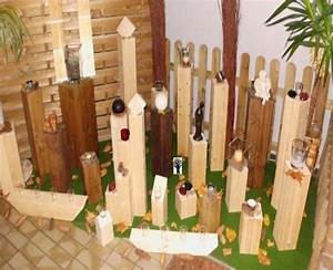 Holz Wasserdicht Machen : deko garten selber machen holz gartenstelen basteln deko ~ Lizthompson.info Haus und Dekorationen