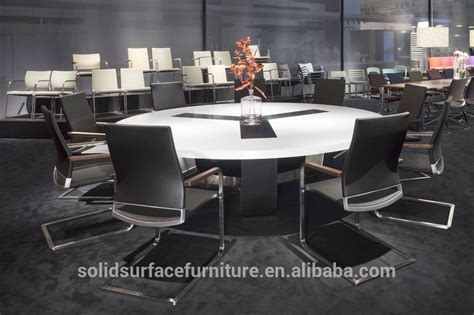 round conference table for 6 the modern artificial stone 48 round conference table 6