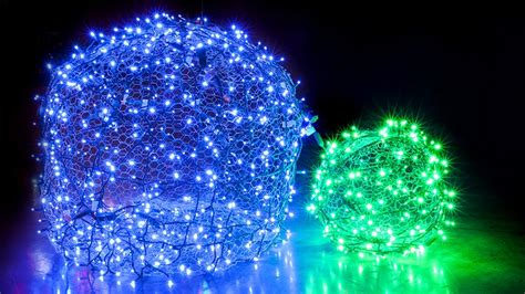 chicken wire christmas lights how to make light balls