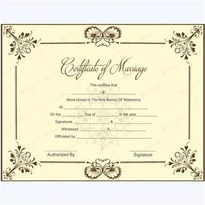 Commemorative wedding certificate template mini bridal for Commemorative certificate template