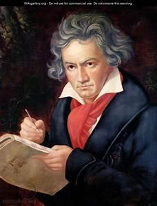 Ludwig van Beethoven 1770-1827 Composing his Missa ...