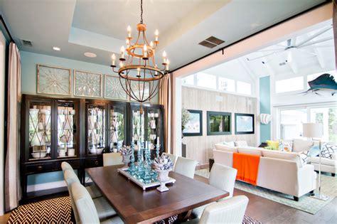 hgtv smart home  tropical dining room