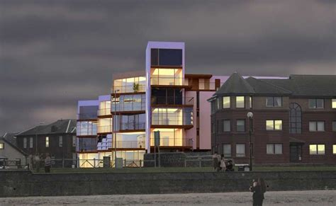 saltcoats competition irvine bay regeneration  architect