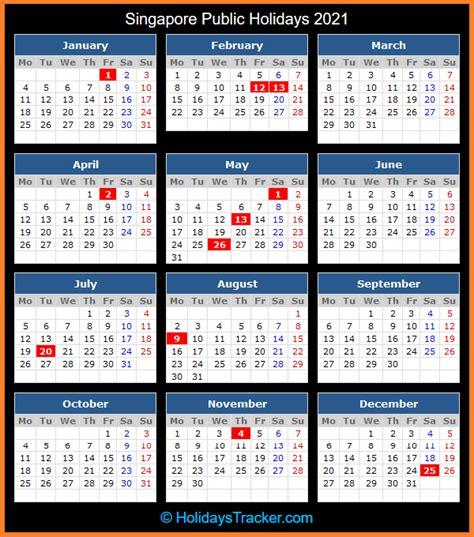The qppstudio worldwide public holidays database for 2022, 2023, 2024, 2025, and beyond, is available, immediately, with a professional license. Singapore Public Holidays 2021 - Holidays Tracker