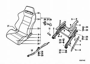 Original Parts For E30 M3 S14 2 Doors    Seats   Bmw Sports Seat 4