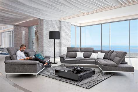 home salon canape canapé en tissu dossiers reculants pouf