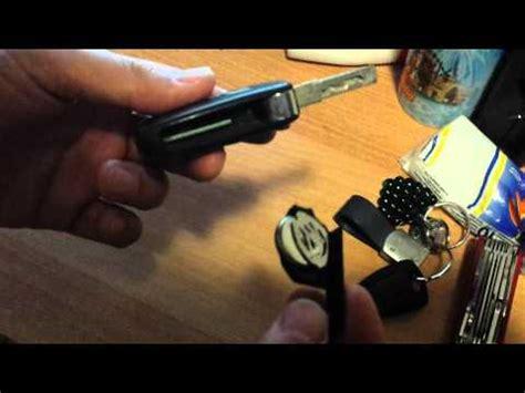 tutorial sostituzione batteria chiave lancia  youtube