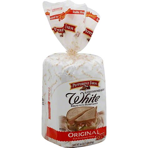 pepperidge farm white bread original white sourdough bread needlers fresh market