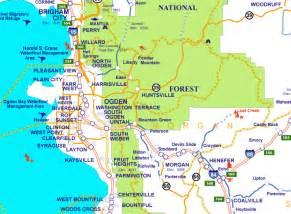 Ogden Utah Map