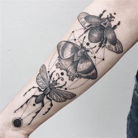 collision  flora fauna   cosmic  tattoos