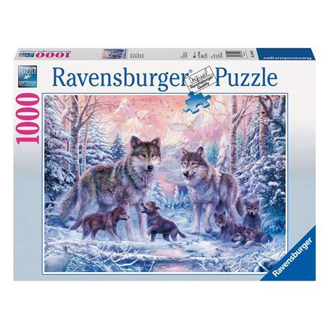 cadre puzzle 1000 pieces ravensburger arctic wolves 1000 puzzle 163 12 00 hamleys for ravensburger arctic wolves