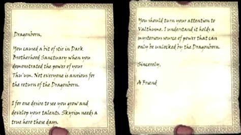 skyrim letter from a friend luxury skyrim letter from a friend cover letter exles 48910