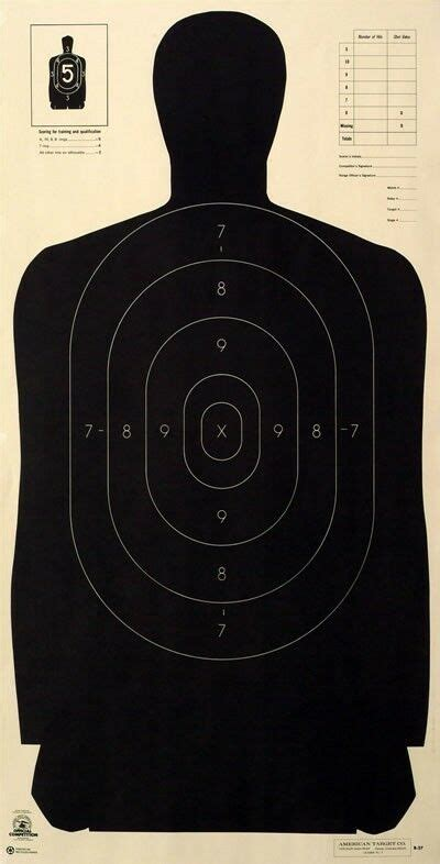official nra    silhouette targets