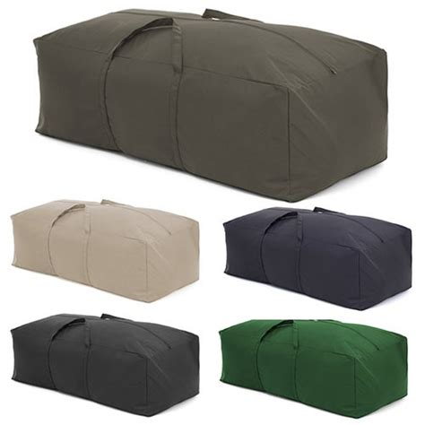 outdoor water resistant large cushion storage bag