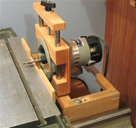 homemade woodworking machines