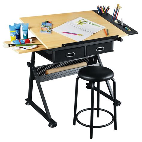 Artist's Loft™ Arts & Crafts Creative Center. Oak Corner Desk With Hutch. Black Brown Desk. Drafting Table. Office Chair With Desk Attached. Round Counter Height Table Sets. Folding Tables At Target. Computer Classroom Desk. Whirlpool Drawer Dishwasher
