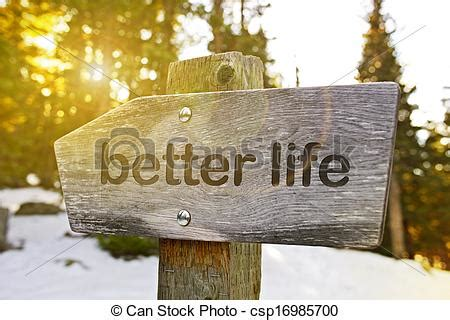 Stock Photography Of Better Life Trail Best Way To Better