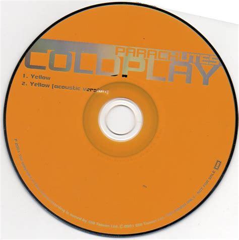 Coldplay Yellow 2001 Cd Discogs