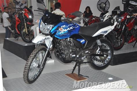 Review Tvs Max 125 by Spotted Tvs Road Adventure Bike Is Indonesia Spec Max