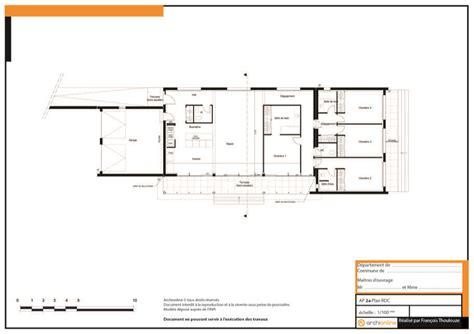 plan d architecte de maison gratuit