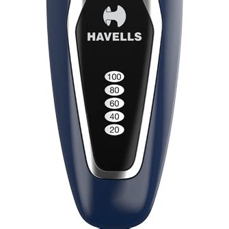 buy havells rs rechargeable shaver ink blue