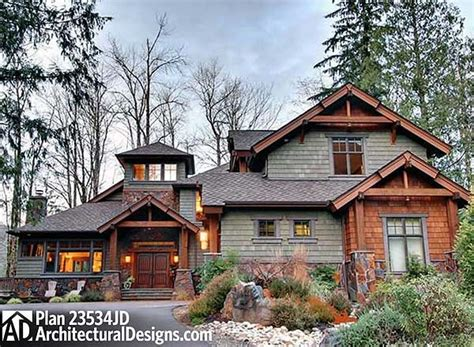 photos and inspiration rustic house plans plan 23534jd 4 bedroom rustic retreat house plans