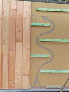 Pose Lambris Horizontal Commencer Haut : bardage bois vertical ~ Premium-room.com Idées de Décoration