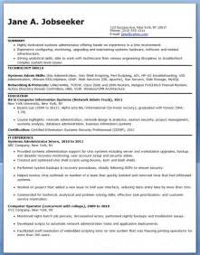 healthcare administration resume entry level systems administrator resume sle entry level resume downloads