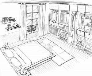 Comment dessiner une chambre pourquoi comment les for Comment dessiner une chambre
