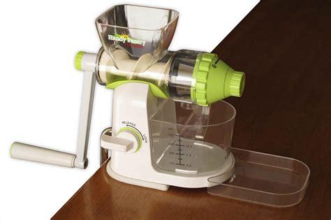 juicer hand manual crank wheatgrass juice extractor vegetable wheat typhoon kitchen grass fruit amazon