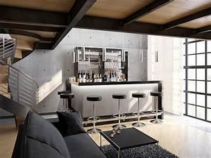 Bar Im Wohnzimmer : wohnzimmerbars ullmann hausbars ~ Indierocktalk.com Haus und Dekorationen