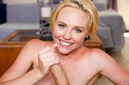 Pov Youthful Vs Little Short Hair Penis #Miley #May #Blows #Cock